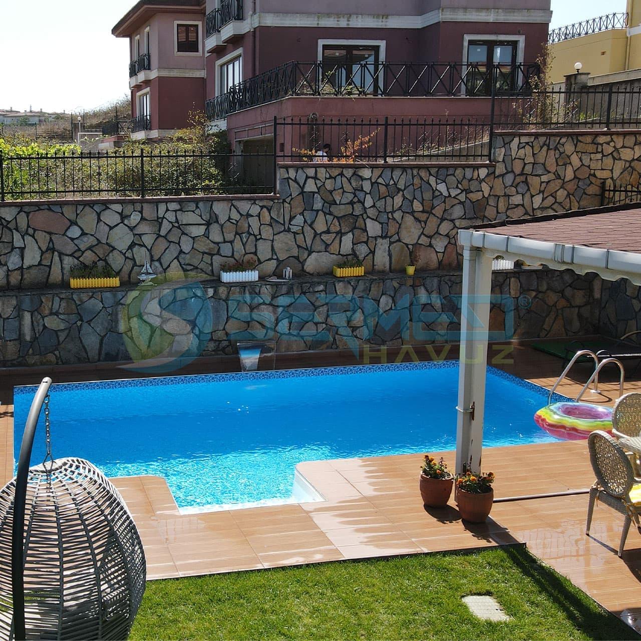 Fipool panel havuz Ferah Hanım istanbul