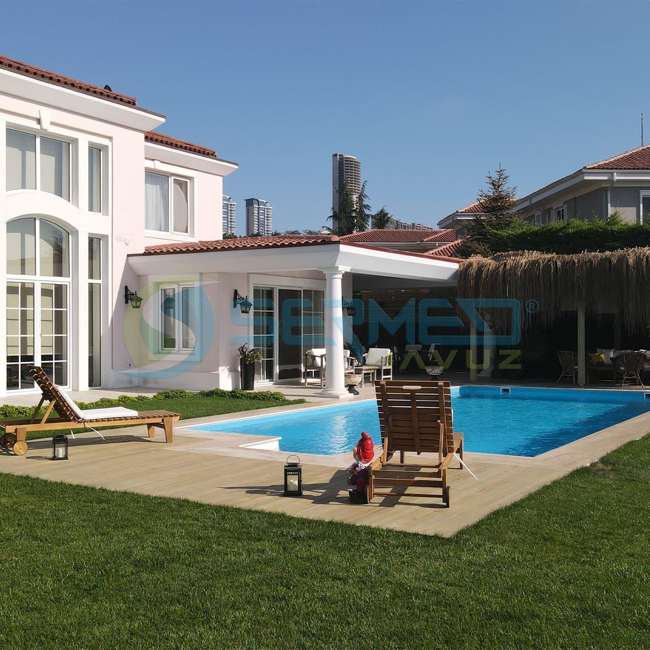 istanbul Mehmet Bey Fipool Plus Havuz Sermed Havuz tarafından yapıldı.
