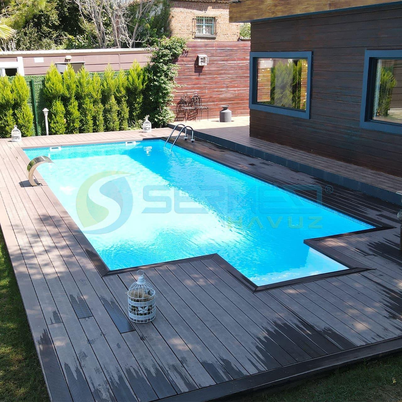 İzmir'de Pamira Garden Fipool Plus Havuz Sermed Havuz tarafından yapıldı.