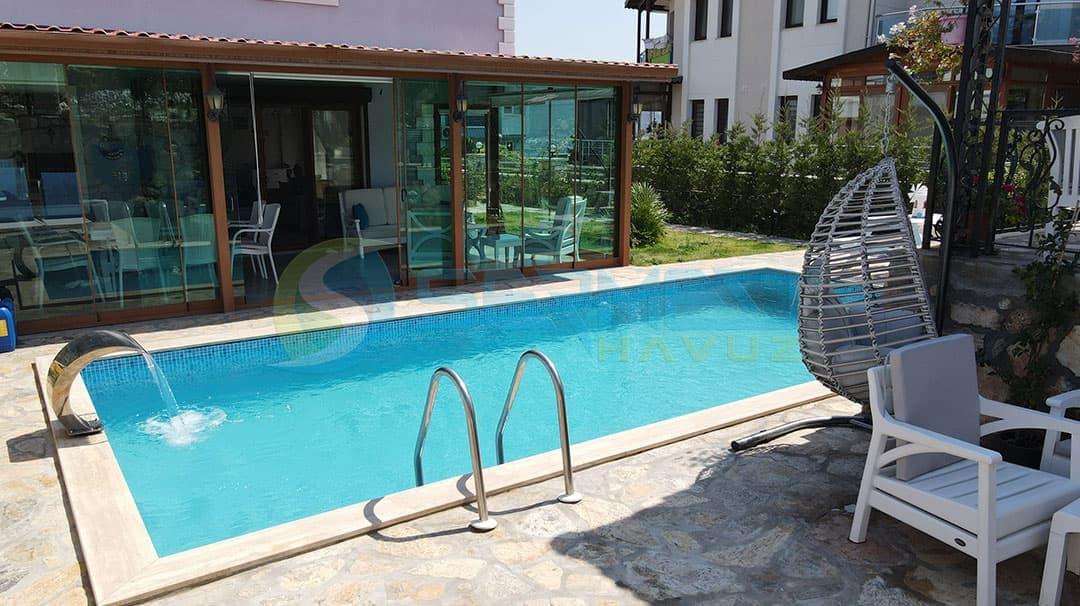 Fipool Skimmerli Panel havuz Erkan bey izmir sermed havuz tarafından yapıldı.
