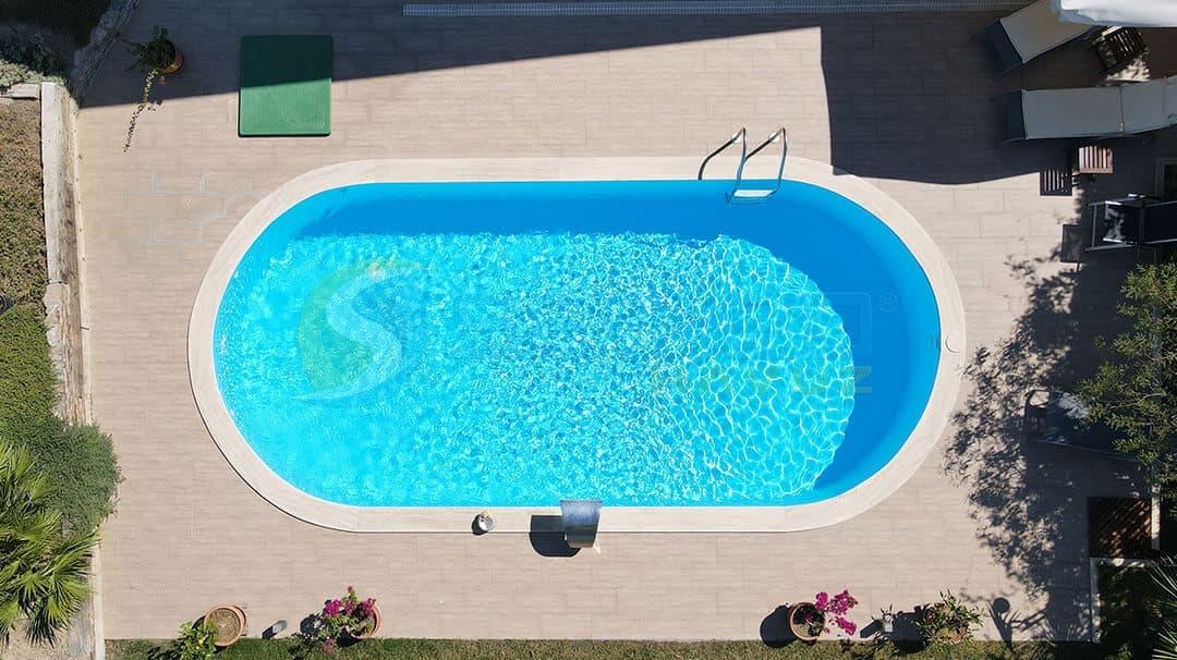 İzmir Urla Seden Hanım Maldiv Skimmerli Prefabrik Havuz Sermed Havuz Firması tarafından yapıldı.