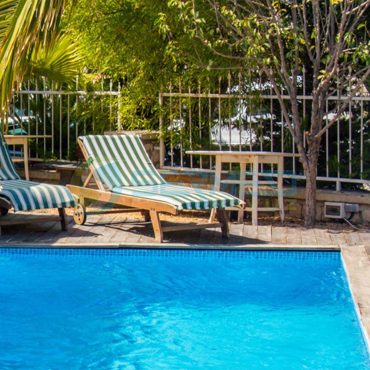 fipool Skimmerli Panel havuz Alacati Agustos Otel uygulaması sermed havuz tarafından yapıldı.