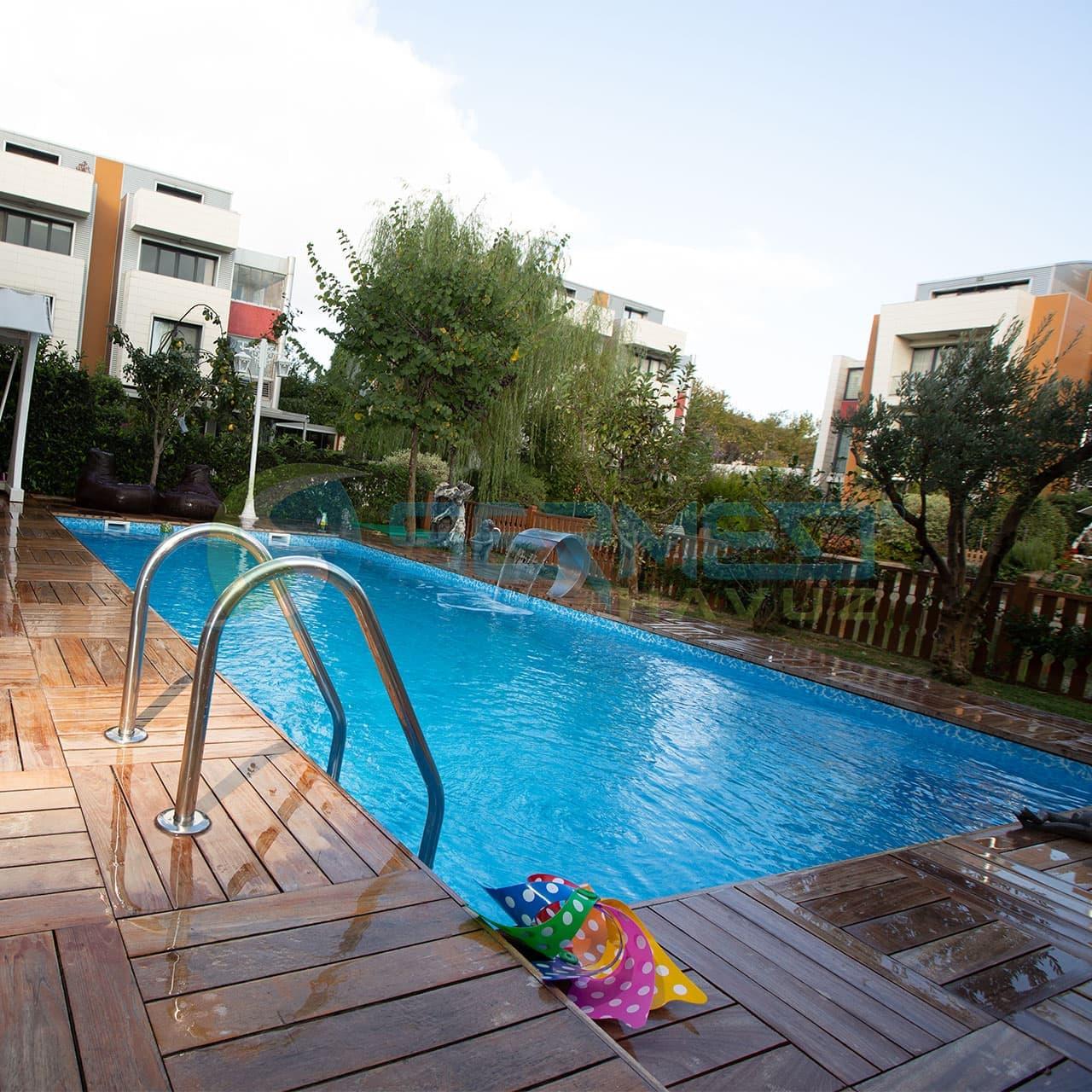 Lagün istanbul Fipool Skimmerli Panel havuz Sermed Havuz Firması tarafından yapıldı.