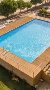 İzmir Bartu Otel Fipool Zeminüstü Panel Havuz Sermed Havuz Firması tarafından yapıldı.
