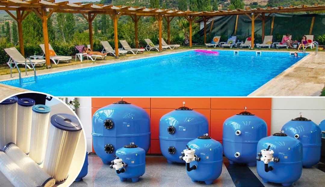 Yüzme Havuzu Filtre Türleri Arasındaki Farklar
