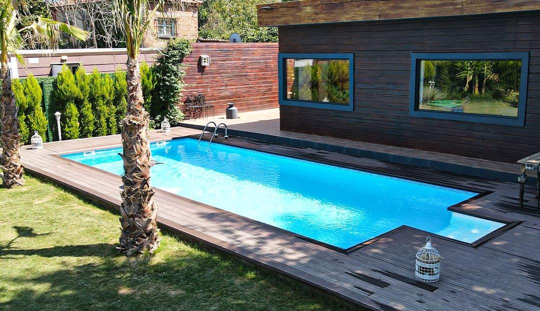 4x8 32 m2 Fipool Prefabrik Havuz Fiyatı